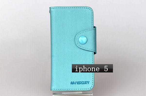 免運  韓國mercury iPhone 5代皮套 5G支架皮套 手機皮套 錢包保護套
