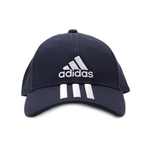 ADIDAS 6P 3S CAP COTTO 三線棒球帽 深藍 DU0198 鞋全家福