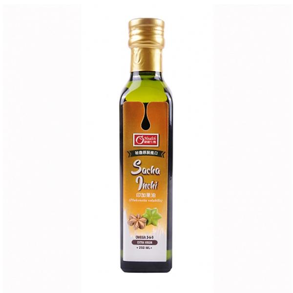 【康健生機】印加果油(250ml/瓶)