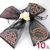 文具 高級精緻束口紗網袋-10入(16*10cm) 結婚 飾品  項鍊【PMG284】收納女王