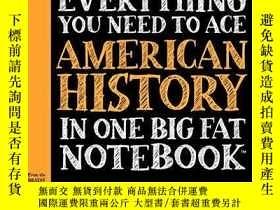 二手書博民逛書店Everything罕見You Need To Ace American History In One Big F