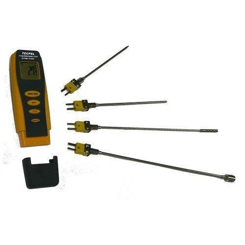 泰菱電子◆K型電熱偶 多用途數位式溫度計 Ktype 溫度表DTM-3105 TECPEL