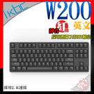[ PC PARTY ] 送PBT 中文 鍵帽 ikbc W200 PBT 2.4G 無線 靜音紅軸 英文 機械式鍵盤 黑