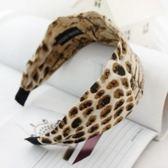 UNICO  韓國進口正品 動物紋 時尚印花寬布髮箍/髮飾/飾品