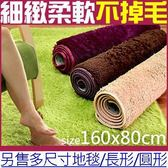 80x160cm絲毛地毯(4色)超細緻絲柔地毯腳踏墊防滑墊止滑墊遊戲墊遊戲軟地墊瑜珈野餐墊和室墊