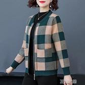 中老年外套女 媽媽裝新款冬裝中老女加絨加厚大碼外套中秋冬款保暖衣服 快速出貨