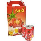 (韓國飲品)SAKI無鹽蕃茄原汁禮盒 1箱/180mlx15罐【2019040913005】