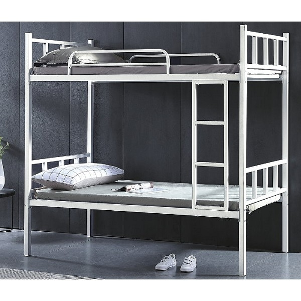 雙層床 CV-181-1 艾伯特白色3尺雙層床  (不含床墊) 【大眾家居舘】