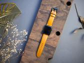 Alto Apple Watch 皮革錶帶 42/44mm - 焦糖棕 適用於 Apple Watch Series 1-6 & SE