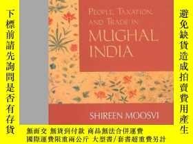 二手書博民逛書店People,罕見Taxation, And Trade In Mughal India (aligarh His