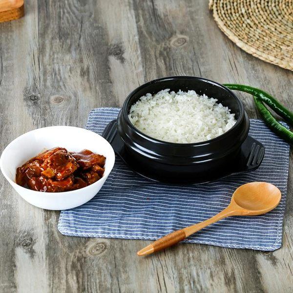 石鍋韓國拌飯用石鍋韓式砂鍋 淺鍋煲仔飯黃燜雞陶瓷沙鍋 igo 范思蓮恩
