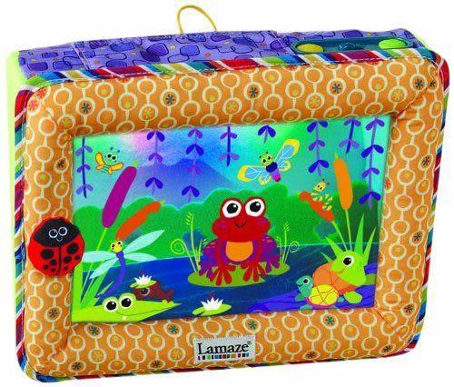 【奇買親子購物網】Lamaze 拉梅茲 嬰幼兒玩具-小青蛙安撫音樂池塘