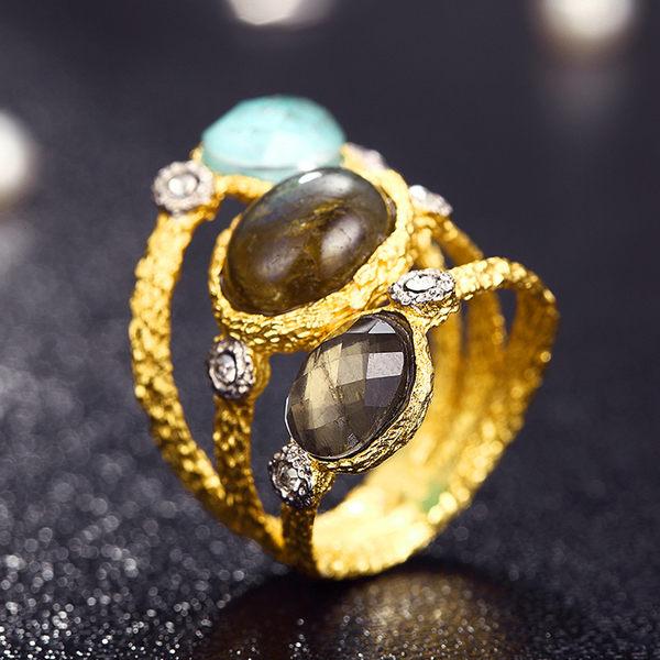 芭比派對系列 時尚星際環繞水鑽戒指