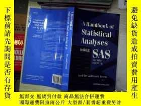 二手書博民逛書店Handbook罕見Of Statistical Analyse