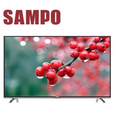 SAMPO聲寶 50吋低藍光LED顯示器+視訊盒(EM-50AT17D)