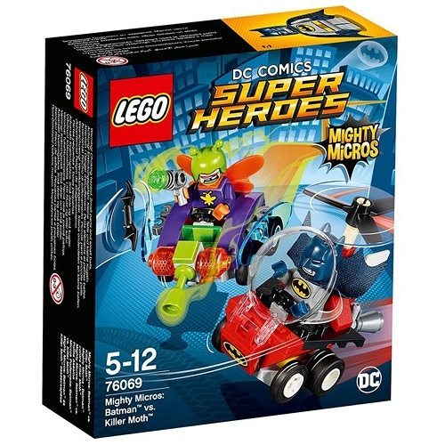 LEGO樂高 SUPER HEROES 超級英雄系列 Mighty Micros: Batman™ vs. Killer Moth™_LG76069