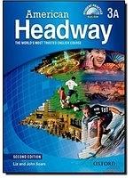 二手書博民逛書店 《American Headway: Level 3: Split Student Book a with Multirom》 R2Y ISBN:9780194727778│NA