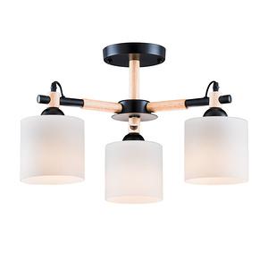 【大巨光】北歐風3燈半吸頂燈-中(BM-20123)W600mmXH340mm