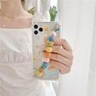 編織毛線糖果鏈條殼蘋果手機殼硅膠個性創意保護套【輕派工作室】