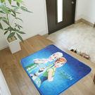 冰雪奇緣卡通踏墊(45*65cm)【愛買】
