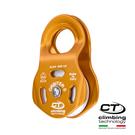 鋁合金滑輪2P660 Climbing Technology/城市綠洲(橘色、鋁合金、義大利製造)