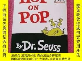 二手書博民逛書店HOP罕見ON POP BY DR SEUSS英文原版Y1921