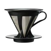 金時代書香咖啡 HARIO V60免濾紙黑色濾杯 CFOD-02B