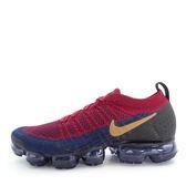 Nike Air Vapormax Flyknit 2 942842-604 男鞋 運動 慢跑 休閒 輕量 氣墊 酒紅