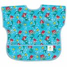 美國 Bumkins 迪士尼 防水防臭圍兜-短袖  美人魚公主(1-3歲)
