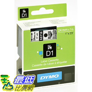 [美國直購] DYMO 53710 Standard D1 Self-Adhesive Polyester Tape for Label Makers 1inch x 23 標籤紙