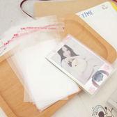 PGS7 富士 拍立得 相片保護套 - 可黏款 100入 保護 拍立得底片 空白底片 Pringo SP-1 底片【SHZ61086】