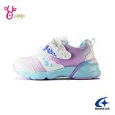 Moonstar月星童鞋 女童運動鞋 冰雪奇緣機能鞋 慢跑鞋 ELSA艾莎安娜 迪士尼聯名款 J9667#白色◆奧森
