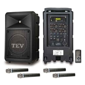 TEV DVD/CD/USB/SD四頻無線擴音機 TA680D-4