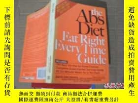二手書博民逛書店the罕見Abs Diet Eat Right Every Tl