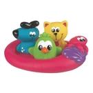 澳洲 PLAYGRO 軟膠洗澡組-漂浮夥伴|洗澡玩具