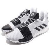 adidas 籃球鞋 Harden Vol.3 灰 黑 BOOST 三代 低筒 哈登 男鞋 運動鞋【PUMP306】 AQ0035
