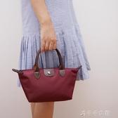 手提包小包包女迷你手提包餃子包斜跨包側背斜背小包女包水餃包 千千女鞋
