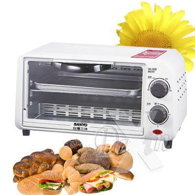 【精緻小烤箱 可調整溫度(100~250℃)】《★彡三洋9L電烤箱(SK-09B) ★彡》 ⊙免運費⊙