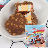 Yupi 呦皮脆米巧克力棉花糖 大容量108g【櫻桃飾品】【27286】