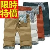 休閒褲-純棉帥氣韓版男五分褲10色54n2【巴黎精品】