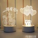 3D小起夜燈臥室抖音嬰兒餵奶臺燈創意卡通...