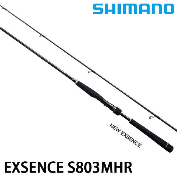 漁拓釣具 SHIMANO 16 EXSENCE S803MHR (海水路亞竿)