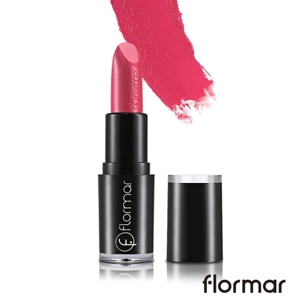 法國Flormar奢金搖滾唇膏 #07粉紅沙瓦