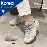 厚底.網布拼接越野老爹鞋-FM時尚美鞋-韓國精選.Autumn