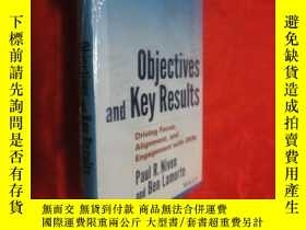 二手書博民逛書店Objectives罕見and Key Results (小16開,硬精裝) 【詳見圖】, 未開封Y5460