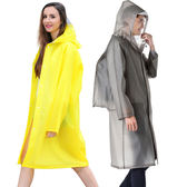雨衣成人背包大碼長款戶外徒步旅游男女透明帽檐時尚雨披【端午節免運限時八折】