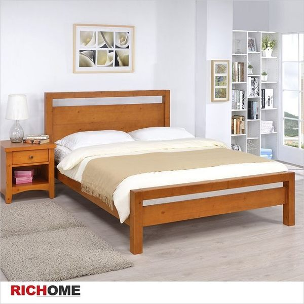 【RICHOME】典雅雙人床《上野雙人床》
