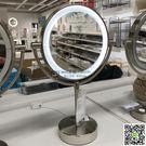 帶照明燈浴室鏡化妝鏡LED照明鏡子美妝放...