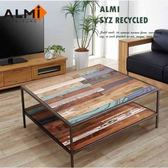 ALMI SYZ RECYCLED- 2 LEVELS 100X100 咖啡桌