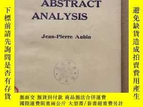 二手書博民逛書店applied罕見abstract analysis(P646)Y173412